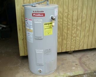 A.O. Smith Pro Max 52 gallon water heater like new
