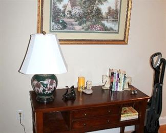 Console table - also have matching coffee table and 2 end tables