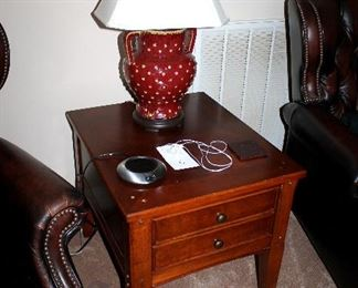 End tables (2 of these) - also have matching coffee table and console table