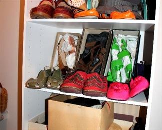 Ladies shoes - most are size 9-9.5 - designer names - many Salvatore Ferragamo, Cole Haan, Stewart Weitzman, UGG boots, Etienne Aigner, and more!