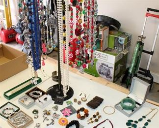 Jewelry - mostly costume but some sterling and gold
