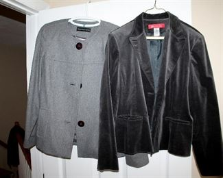 Dana Buchman & Anne Klein jackets (size 14)