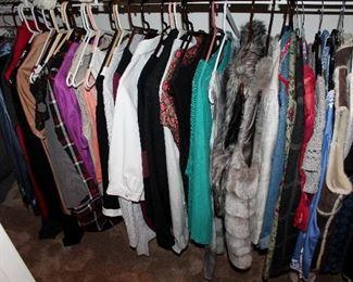 Nice women's clothing - designer names such as Yves Saint Laurent, Neiman Marcus, Ralph Lauren, Eileen Fisher, Dana Buchman, Anne Klein, and more! Sizes medium to XL