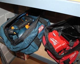 Ryboi and Milwaukee power tools
