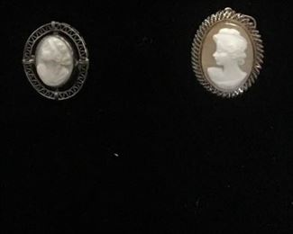 Brooch  Unmarked Cameo