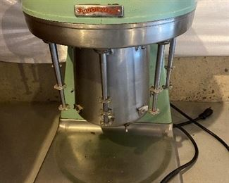 Vintage #2 Prince Phillips MULTIMIXER shake machine (also have the milkshake cups)$ 225