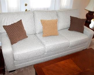 #1 - King Hickory Upholstered Sofa