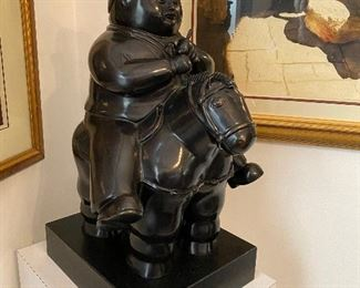 Signed Botero Sculpture