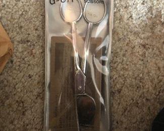 Appliqué scissors