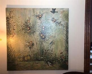 $145 Large Wall Art Plaque Painting Décor