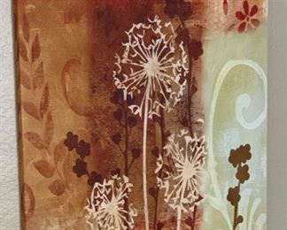dandelion Decor Painting35x23.5