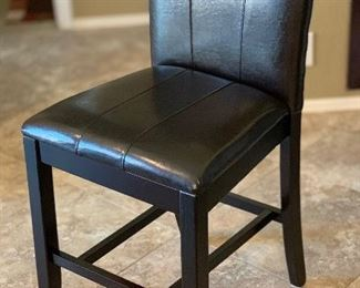 Single Faux Leather Chair