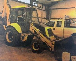 1997 FORD/NEW HOLLAND Model 575E Loader-Backhoe Tractor  5,343 hours, Diesel