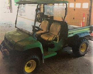 2005 JOHN DEERE GATOR UTV (utility terrain vehicle) 2169.5 hours