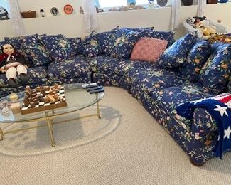 Large sectional sofa $300