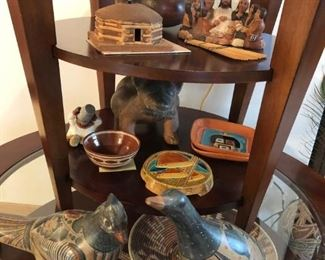 We still have a lot of this pottery AND the tables!