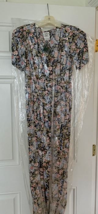 vintage Laura Ashley dress, new with tags