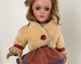 Sonja Henie ice skater doll