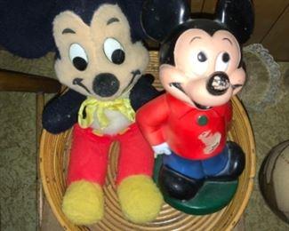 Vintage Mickey Mouse plus more Disney