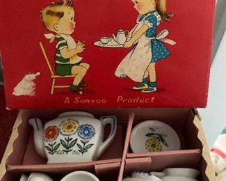 Child tea set