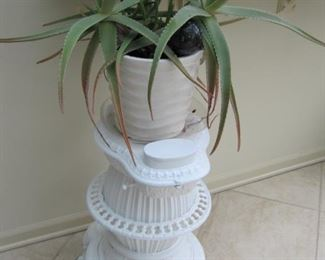 $40.00, Cast Iron Stove plant stand