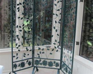 $200.00, Large cast iron Garden trellis