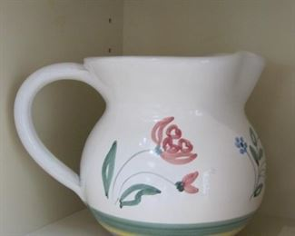 $8.00, Italy water pitcher