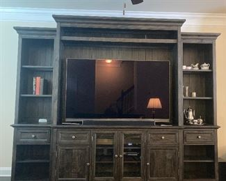 Haverty Entertainment Center w/2 bookcases