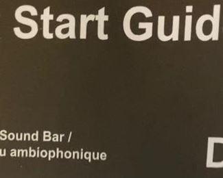Sound bar guide