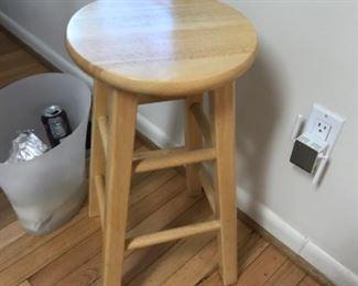 "IKEA stool measures 24"" tall"