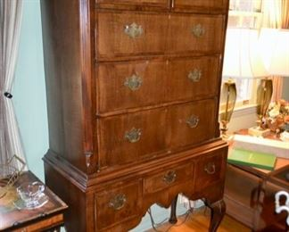 antique highboy