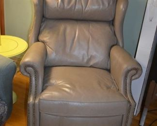 Bradington Yound leather recliner (needs repair)