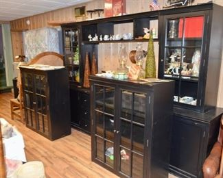massive entertainment cabinets