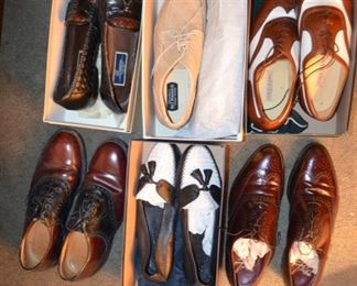 men's shoes mostly size 9.5