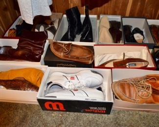 selection of men's shoes most size 9.5:  L.L. Bean, Wilson, Cole Haan, Bally, Giorgio, Royal Imperial and more!