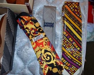 Gianni Versace, Burberrys of London, Missoni ties