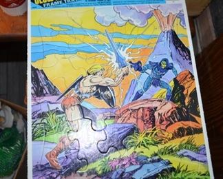 1986 glow in the dark Masters of the Universe puzzle