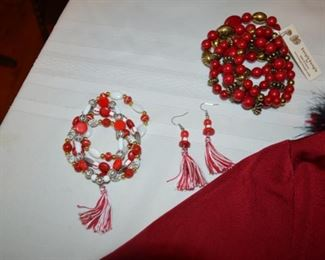 selection of costume jewelry
