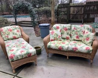 Tortuga Outdoors 2 Seater Sofa and Chaise