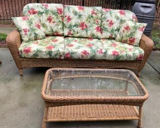 Tortuga Outdoors 3 Seater Sofa & Coffee table