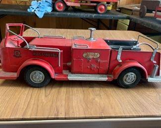 $150  RossMoyne  Fire Truck