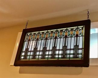 Prairie Style Stained Glass Window -- $1,200