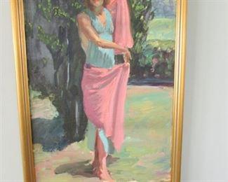 Mc Burney portrait of a women