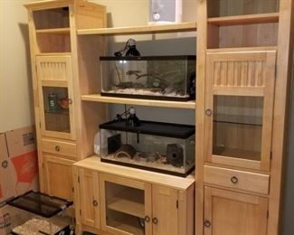 Stand only (aquariums not included) $175