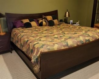 King size Sleep Number bed (includes mattress, supports and frame) with dual controls. $1250