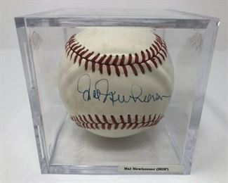 Hal Newhouser Signed Baseball