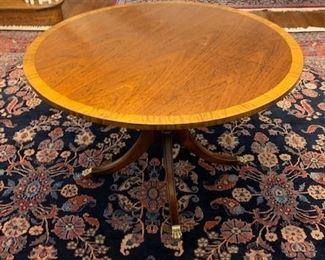 SATIN BANDED HALL TABLE $245