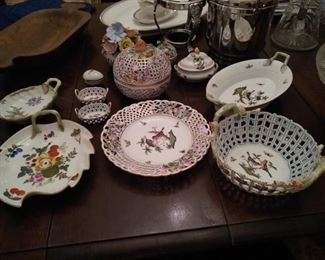 Multiple Herend items