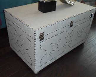 Nail head trunk/coffee table