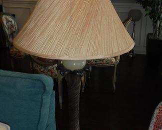 Matching pair modern lamps